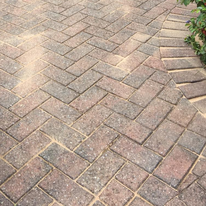 Patio Cleaning After Photo